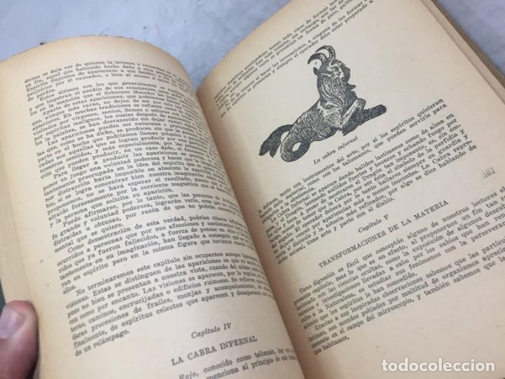 Libros antiguos: EL LIBRO INFERNAL. Tesoro de las Ciencias Ocultas 1962 Caymi Buenos Aires - Foto 5 - 187621278