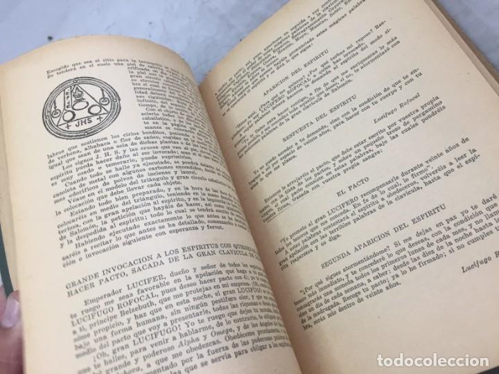 Libros antiguos: EL LIBRO INFERNAL. Tesoro de las Ciencias Ocultas 1962 Caymi Buenos Aires - Foto 7 - 187621278
