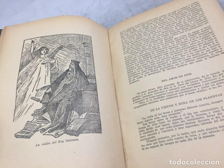 Libros antiguos: EL LIBRO INFERNAL. Tesoro de las Ciencias Ocultas 1962 Caymi Buenos Aires - Foto 12 - 187621278