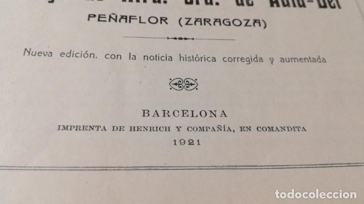 Libros antiguos: Cartuja de Ntra. Sra. de Aula-Dei, Peñaflor,Zaragoza.1921. Henrich y Compañía - ver fotos - goya - Foto 4 - 188432966