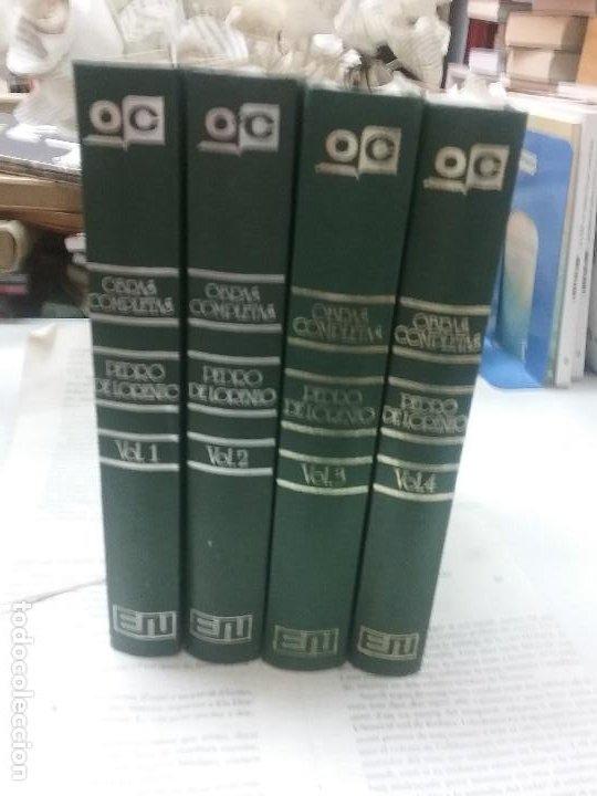 OBRAS COMPLETAS PEDRO DE LORENZO 4 LIBROS (Libros Antiguos, Raros y Curiosos - Bellas artes, ocio y coleccionismo - Otros)