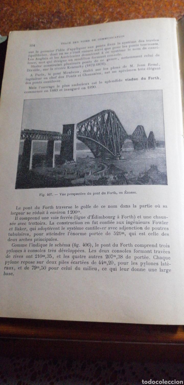 Libros antiguos: ANTIGUO LIBRO DE 1914 ELEMENTS DE TOPOGRAPHIE POR EDMOND GABRIEL - Foto 5 - 188495845