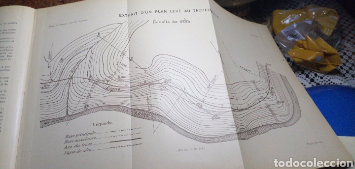 Libros antiguos: ANTIGUO LIBRO DE 1914 ELEMENTS DE TOPOGRAPHIE POR EDMOND GABRIEL - Foto 6 - 188495845