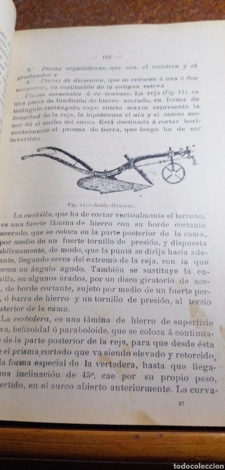Libros antiguos: ANTIGUO LIBRO DE 1904 ELEMENTOS DE AGRICULTURA Y TÉCNICA AGRÍCOLA E INDUSTRIAL TOMO I - Foto 3 - 188497780