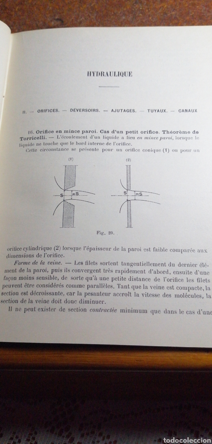 Libros antiguos: ANTIGUO LIBRO DE 1911 COURS DE MECANIQUE - Foto 3 - 188503937