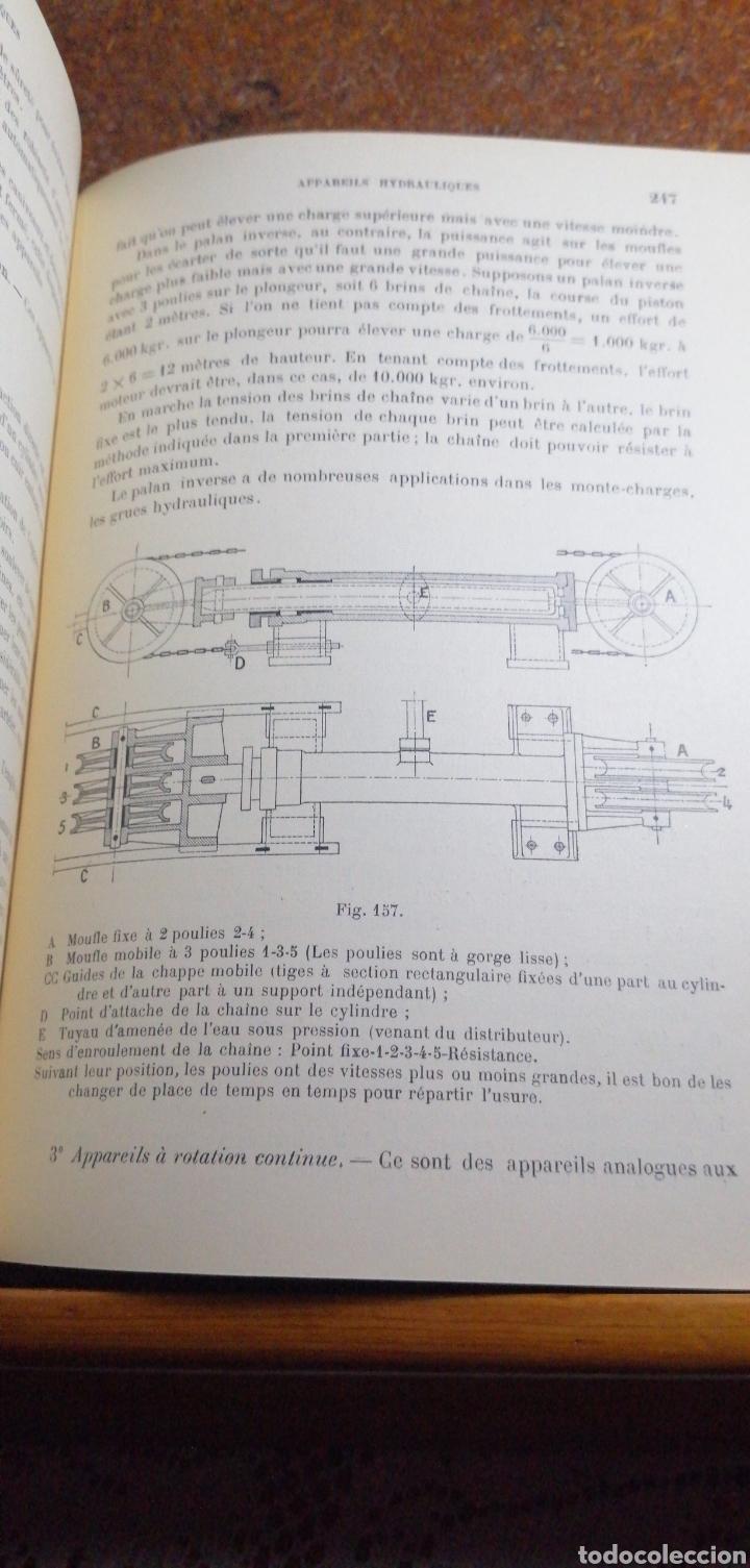 Libros antiguos: ANTIGUO LIBRO DE 1911 COURS DE MECANIQUE - Foto 4 - 188503937