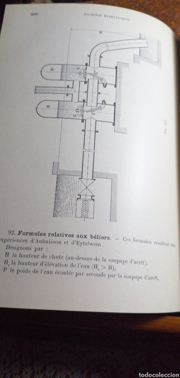 Libros antiguos: ANTIGUO LIBRO DE 1911 COURS DE MECANIQUE - Foto 5 - 188503937