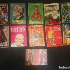 Libros antiguos: LOTE 1 - 11 LIBRITOS ANTIGUOS - ENCICLOPEDIA PULGA , LEER DESCRIPCION. Lote 188524226