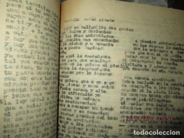 Libros antiguos: LIRETA INEDITA ORIGINAL CON ESCRITOS PERSONALES SORE GUERRA CIVIL DE CARLOS HERRERO - Foto 3 - 188545728