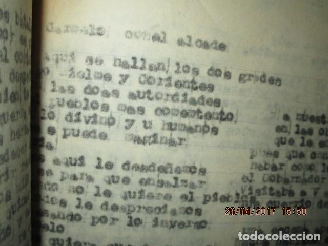 Libros antiguos: LIRETA INEDITA ORIGINAL CON ESCRITOS PERSONALES SORE GUERRA CIVIL DE CARLOS HERRERO - Foto 4 - 188545728