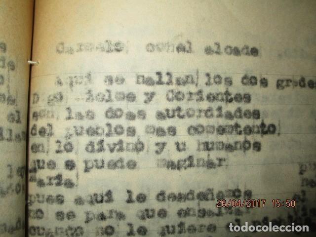 Libros antiguos: LIRETA INEDITA ORIGINAL CON ESCRITOS PERSONALES SORE GUERRA CIVIL DE CARLOS HERRERO - Foto 5 - 188545728