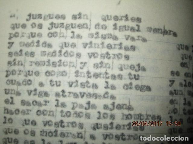 Libros antiguos: LIRETA INEDITA ORIGINAL CON ESCRITOS PERSONALES SORE GUERRA CIVIL DE CARLOS HERRERO - Foto 6 - 188545728