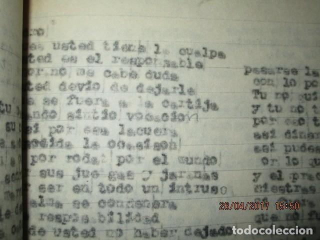 Libros antiguos: LIRETA INEDITA ORIGINAL CON ESCRITOS PERSONALES SORE GUERRA CIVIL DE CARLOS HERRERO - Foto 7 - 188545728