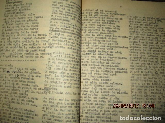 Libros antiguos: LIRETA INEDITA ORIGINAL CON ESCRITOS PERSONALES SORE GUERRA CIVIL DE CARLOS HERRERO - Foto 9 - 188545728
