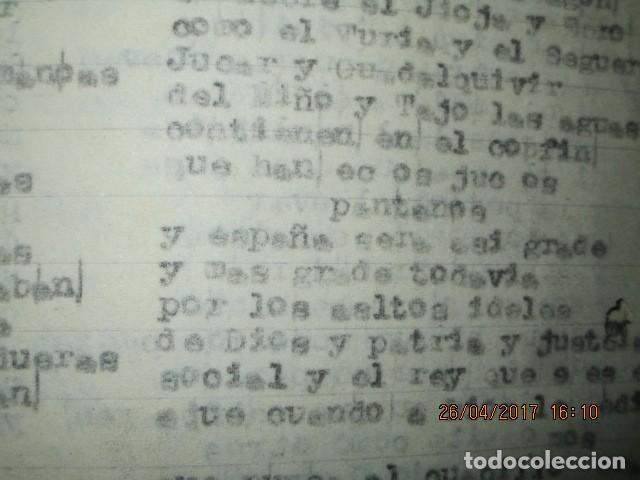 Libros antiguos: LIRETA INEDITA ORIGINAL CON ESCRITOS PERSONALES SORE GUERRA CIVIL DE CARLOS HERRERO - Foto 12 - 188545728