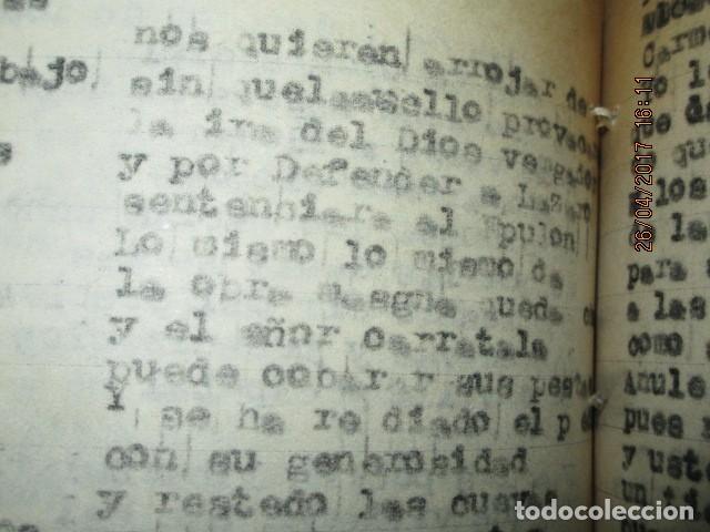 Libros antiguos: LIRETA INEDITA ORIGINAL CON ESCRITOS PERSONALES SORE GUERRA CIVIL DE CARLOS HERRERO - Foto 13 - 188545728