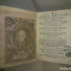 Libros antiguos: JUSTA DEFENSA DE LAS COMEDIAS DE D.PEDRO CALDERON DE LA BARCA - AÑO 1752 - M.DE GUERRA.EXCEPCIONAL.. Lote 188592006