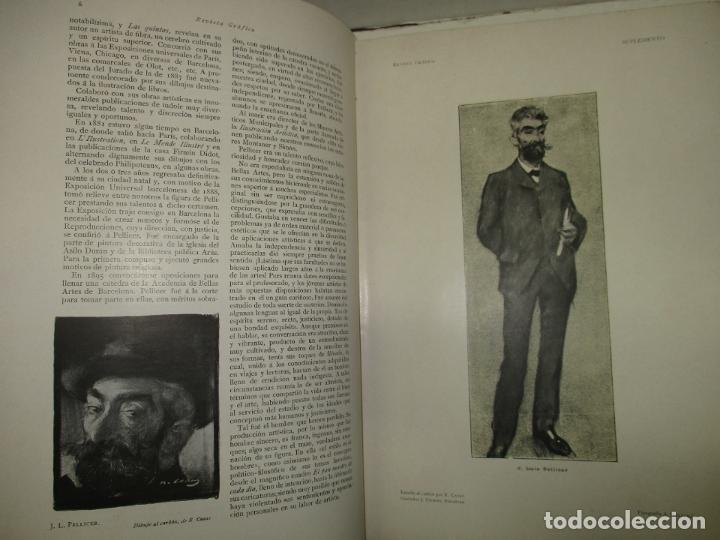Libros antiguos: REVISTA GRÁFICA. 1901-1902. - INSTITUTO CATALÁN DE LAS ARTES DEL LIBRO. 1902. - Foto 3 - 123202467