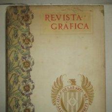 Libros antiguos: REVISTA GRÁFICA. 1901-1902. - INSTITUTO CATALÁN DE LAS ARTES DEL LIBRO. 1902.. Lote 123202467