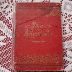 Libros antiguos: FABLES DE LAFONTAINE, PARIS ILUSTRACIONES H. WEIR. Lote 188654232