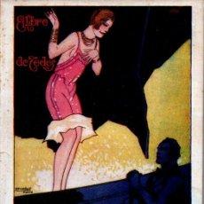 Libros antiguos: BLASCO IBÁÑEZ . MADEMOISELLE NORMA (COSMÓPOLIS, 1927) CUBIERTA DE PENAGOS. Lote 188663873