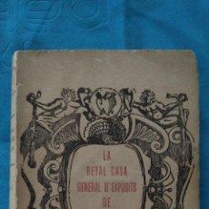 Libros antiguos: LA REYAL CASA GENERAL D'EXPÒSITS DE MALLORCA. Lote 188678433