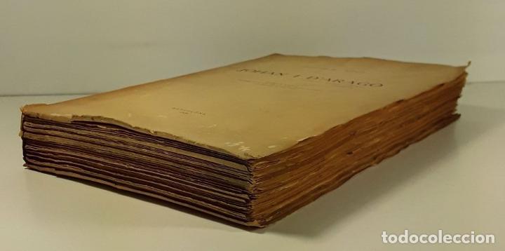Libros antiguos: JOHAN I DARAGÓ. JOSEPH Mª ROCA. TIP. CASA PROVINCIAL DE CARITAT. BARCELONA. 1929. - Foto 2 - 189092788