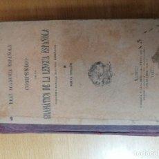 Libros antiguos: COMPENDIO DE LA GRAMÁTICA DE LA LENGUA ESPAÑOLA. RAE. 1925. Lote 189106756