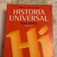 Libros antiguos: HISTORIA UNIVERSAL EDAD MEDIA VICENS VIVENS. Lote 189235443