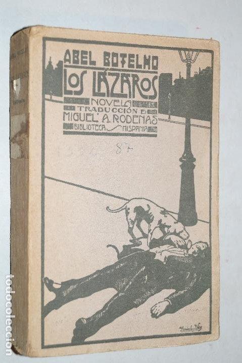 LOS LAZAROS. ABEL BOTELHO. (Libros antiguos (hasta 1936), raros y curiosos - Literatura - Narrativa - Otros)