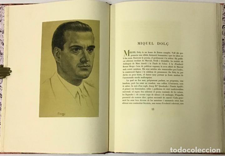 Libros antiguos: ELEGIES DE GUERRA. - DOLÇ, Miquel. [Miciano il·lustr.] - Foto 2 - 123182328