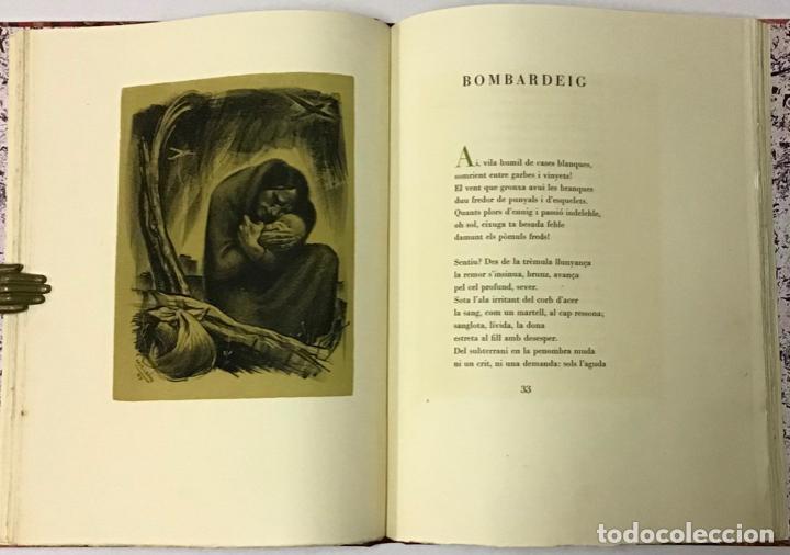 Libros antiguos: ELEGIES DE GUERRA. - DOLÇ, Miquel. [Miciano il·lustr.] - Foto 3 - 123182328
