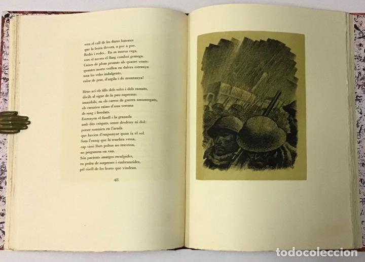 Libros antiguos: ELEGIES DE GUERRA. - DOLÇ, Miquel. [Miciano il·lustr.] - Foto 4 - 123182328