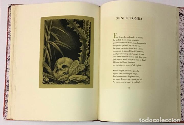 Libros antiguos: ELEGIES DE GUERRA. - DOLÇ, Miquel. [Miciano il·lustr.] - Foto 5 - 123182328