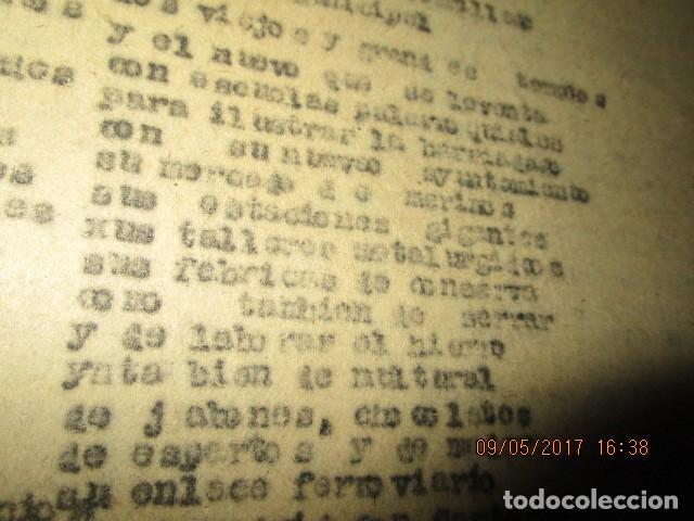 Libros antiguos: LA PLAZA LIBRO ORIGINAL inedito sobre alcantarilla religion escuelas 86 PGS CARLOS HERREROS MUÑOZ - Foto 6 - 146812946