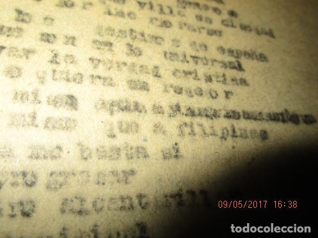 Libros antiguos: LA PLAZA LIBRO ORIGINAL inedito sobre alcantarilla religion escuelas 86 PGS CARLOS HERREROS MUÑOZ - Foto 7 - 146812946
