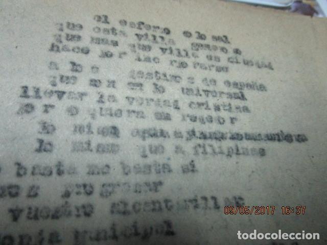 Libros antiguos: LA PLAZA LIBRO ORIGINAL inedito sobre alcantarilla religion escuelas 86 PGS CARLOS HERREROS MUÑOZ - Foto 8 - 146812946