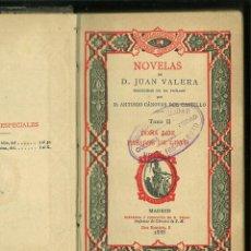 Livres anciens: DOÑA LUZ.-PASARSE DE LISTO. JUAN VALERA. Lote 189730483