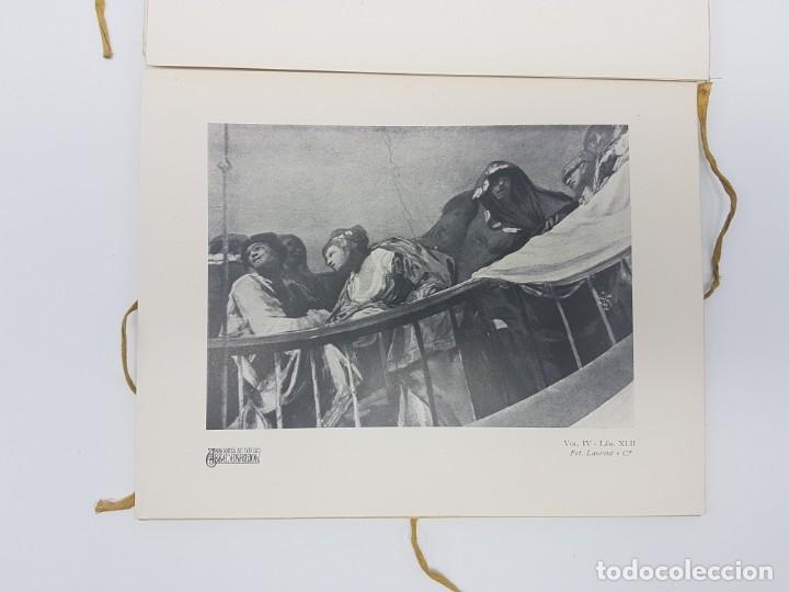 Libros antiguos: ARTE ESPAÑOL ( SAN ANTONIO DE LA FLORIDA ) LA PLANA ( 1924 ) LAMINAS - Foto 5 - 189757575
