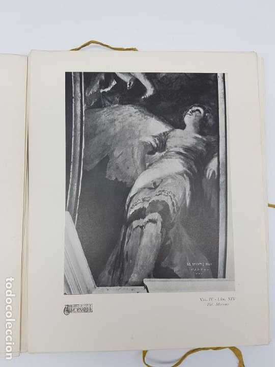 Libros antiguos: ARTE ESPAÑOL ( SAN ANTONIO DE LA FLORIDA ) LA PLANA ( 1924 ) LAMINAS - Foto 6 - 189757575