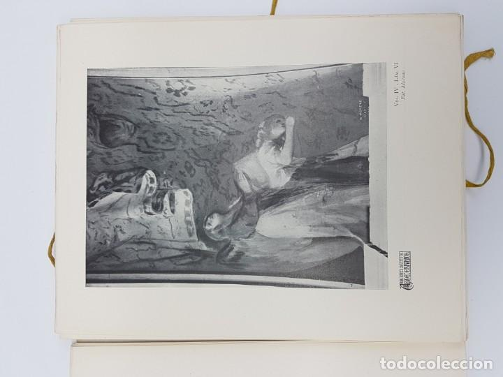 Libros antiguos: ARTE ESPAÑOL ( SAN ANTONIO DE LA FLORIDA ) LA PLANA ( 1924 ) LAMINAS - Foto 7 - 189757575