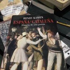 Libros antiguos: HENRY KAMEN ESPAÑA Y CATALUÑA. Lote 189764157