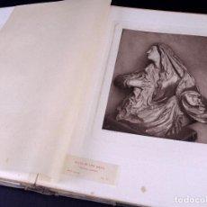 Libros antiguos: ESCULTURA POLICROMA RELIGIOSA ESPAÑOLA. EJEMPLAR Nº 22. PARIS 1925. Lote 189773588