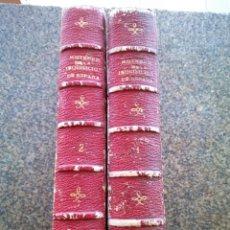 Libros antiguos: MISTERIOS DE LA INQUISICION DE ESPAÑA - TOMO 1 Y 2 -- M. DE FEREAL -- EDITORIAL JUAN PONS -- . Lote 189947117