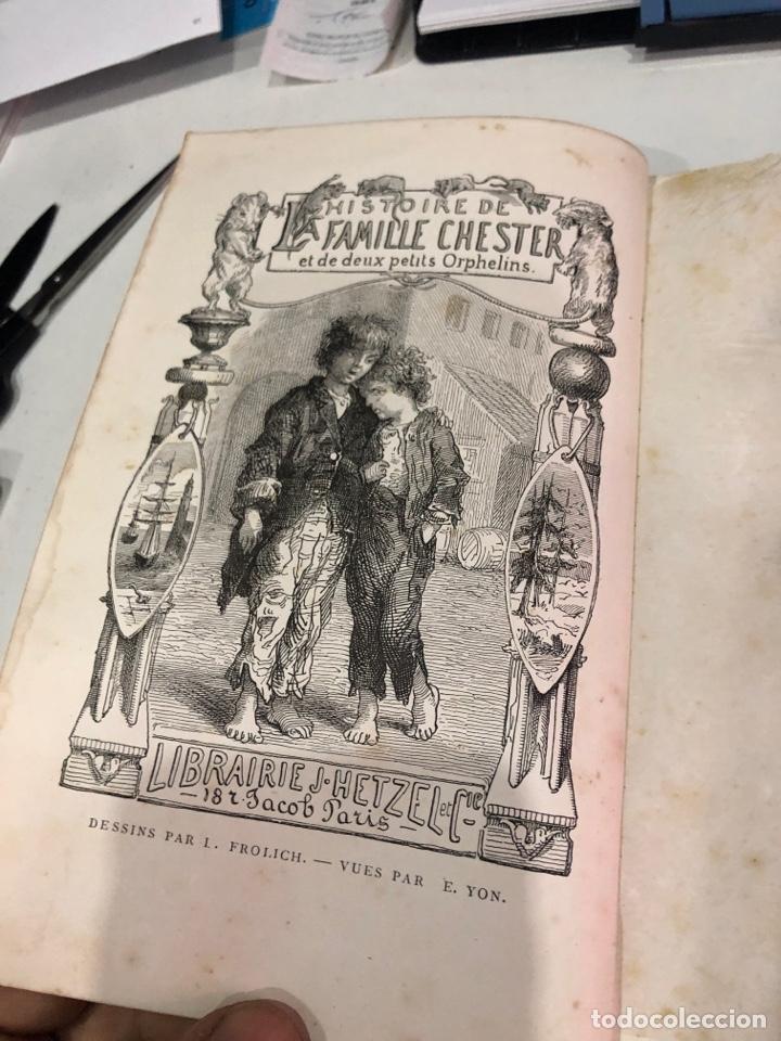 Libros antiguos: Histoire de la famille chester - Foto 4 - 189948343