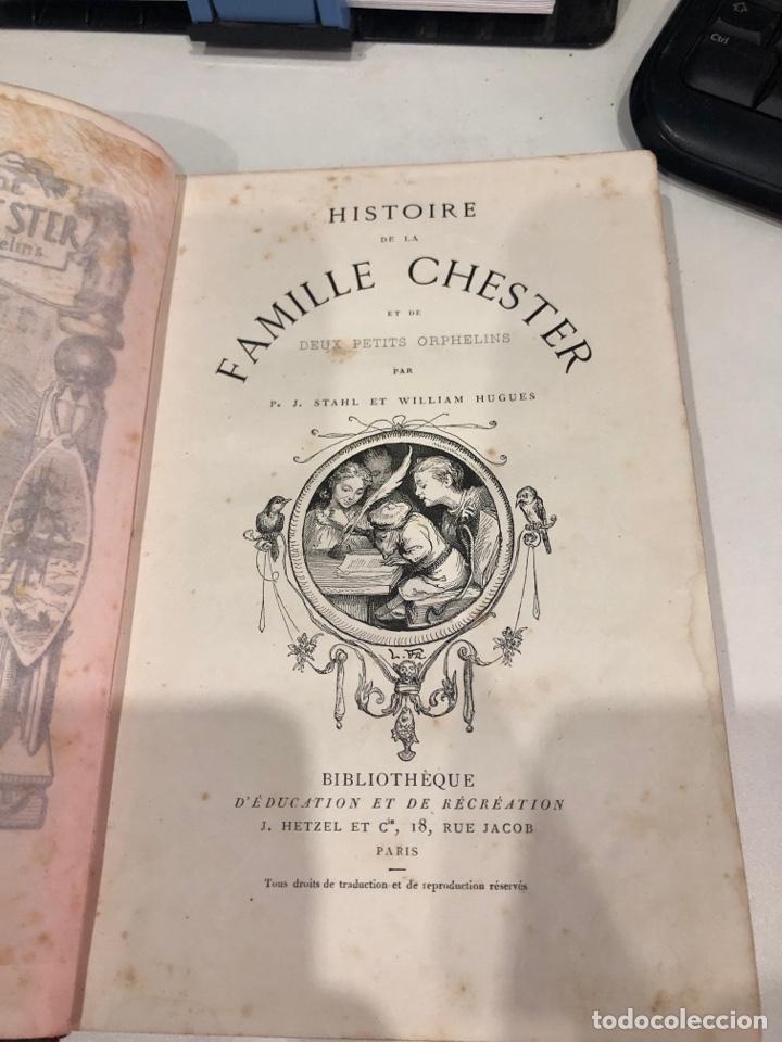 Libros antiguos: Histoire de la famille chester - Foto 5 - 189948343
