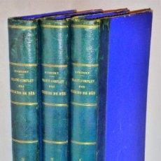 Libros antiguos: TRATADO COMPLETO DE FERROCARRILES, 3 TOMOS. Lote 168762956