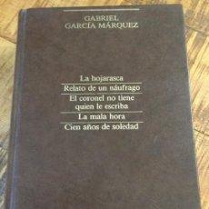 Libros antiguos: GABRIEL GARCIA MÁRQUEZ-NARRATIVA COMPLETA-SUMMA LITERARIA- SEIX BARRAL. Lote 189996925