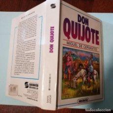 Libros antiguos: DON QUIJOTE DE LA MANCHA DE SUSAETA, MIGUEL DE CERVANTES, LIBRO SAETA JUNIOR, EDITADO EN 1996. Lote 190058426