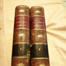 Livres anciens: ORLANDO FURIOSO LUDOVICO ARIOSTO. Lote 190095181